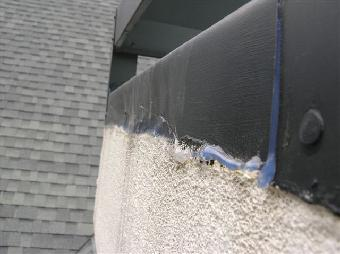 Stucco Chimney Bird Hole Repair