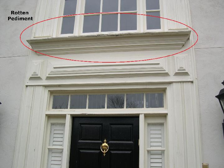 Door Pediments Create A Dramatic Impact For Exterior